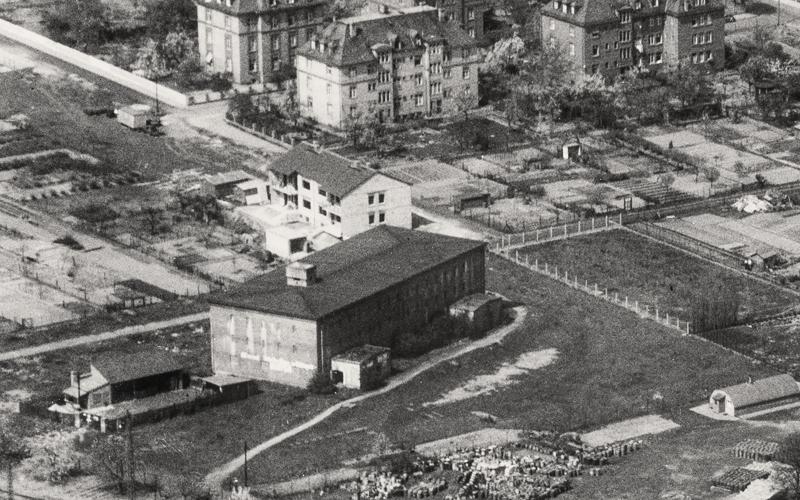 Ansicht METLOCK Bunker 1958